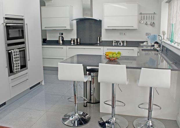 White Kitchen Grey Worktop white kitchens grey worktops - google search | kök solvik