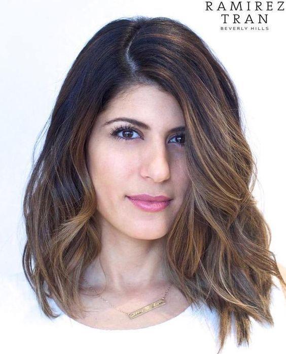 Cute Medium Hairstyles 21 Cute Medium Length Wavy Hair For 2017  2018  Medium Length