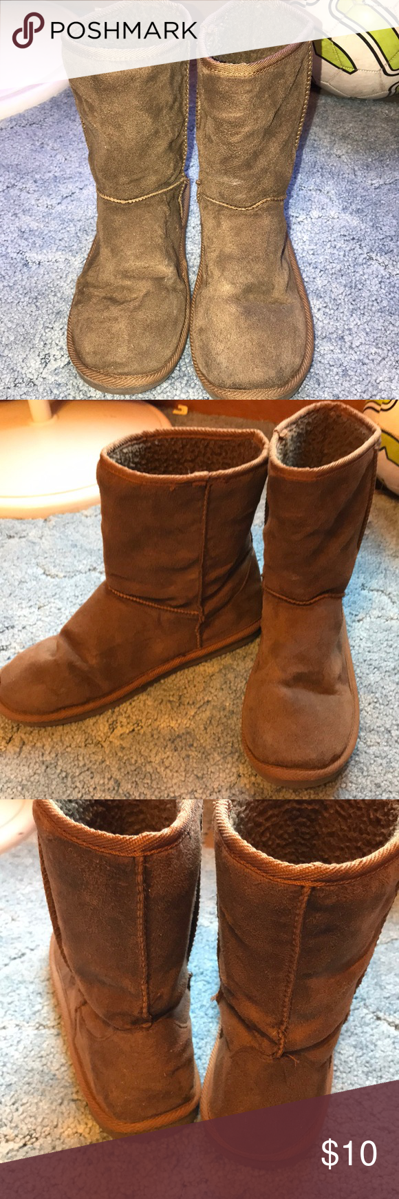 70ff6f31826 Brown imitation ugg boots In perfect condition. Only worn Once or ...