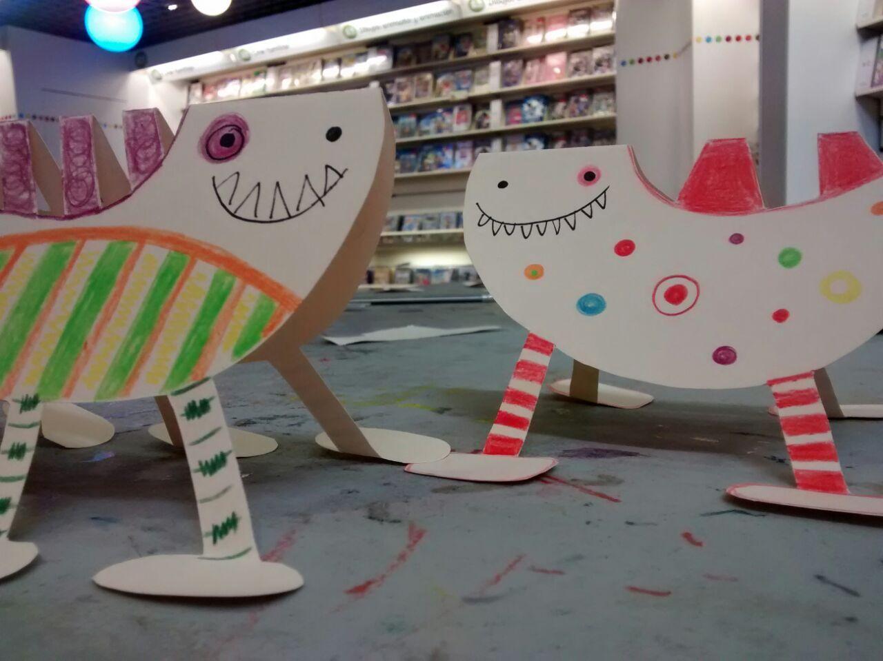 Una muestra de las capacidades artísticas e imaginativas de los jóvenes miembros del Club Fnac Kids