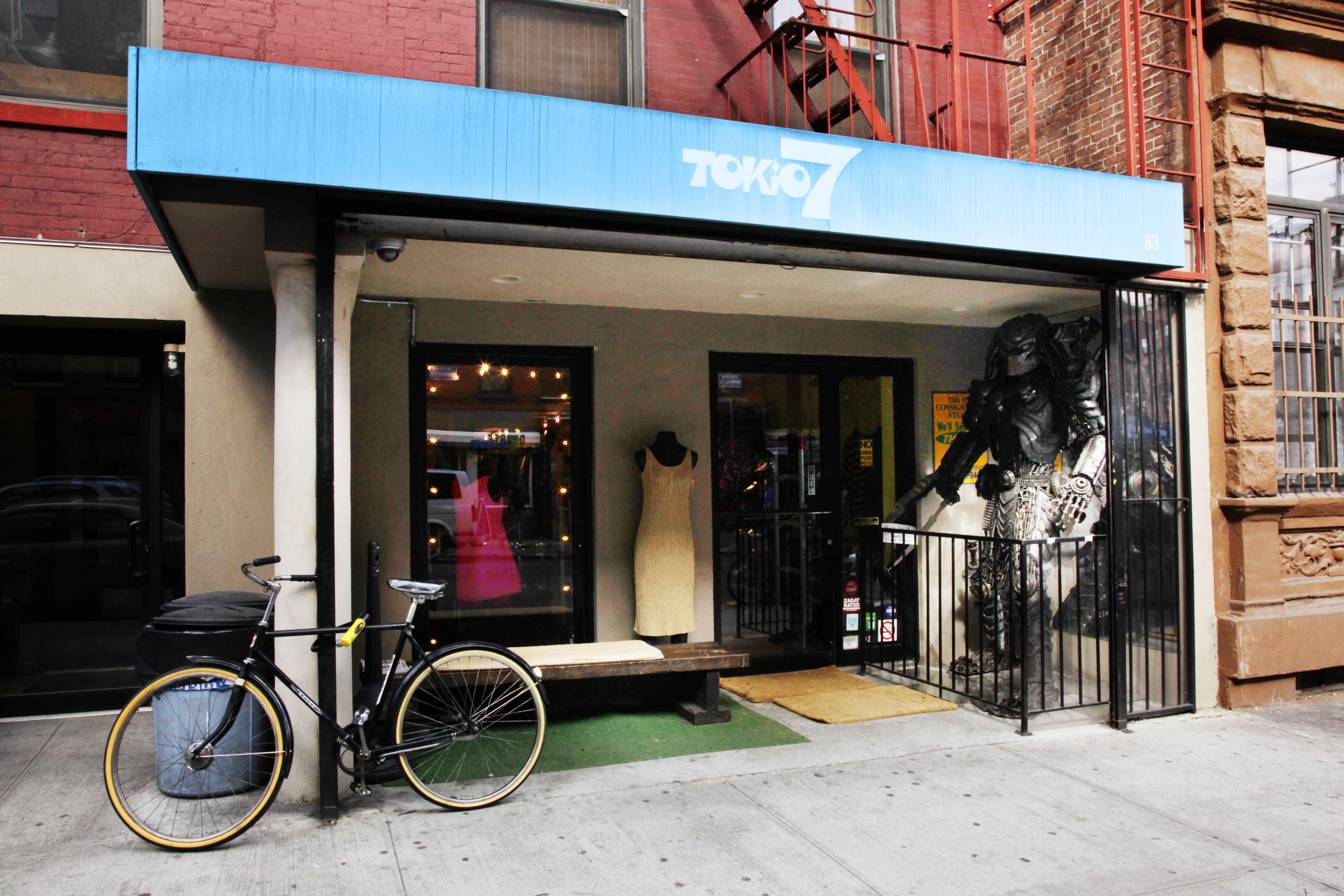 Tokio 7 – East Village, NYC #nyc #nycshopping #shopping #vintageshopping #eastvillage [Photo: Alexander Thompson/NYC & Company]