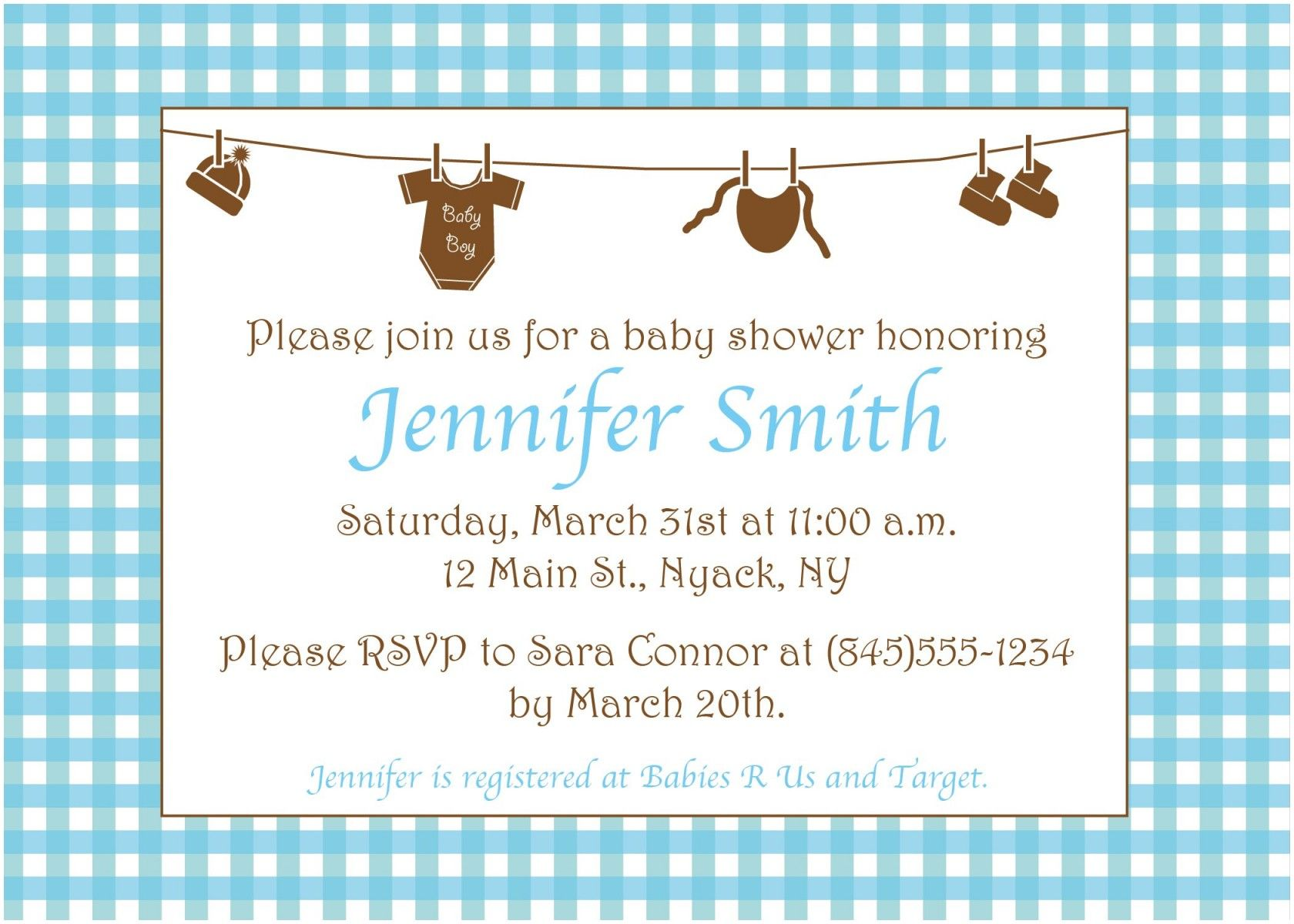 Luxury Baby Shower Invitations Examples  Baby shower invitation