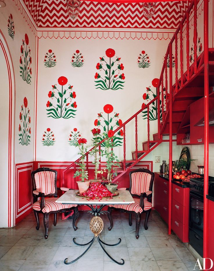 Fashion star marie anne oudejans   opulent jaipur apartment photos architectural digest also  turned interior designer lives in this indian rh za pinterest