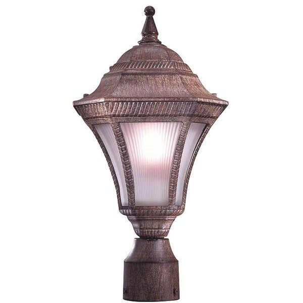 Minka Lavery Segovia Rust 16 1/2  Outdoor Post Light ($85) ?  sc 1 st  Pinterest & Minka Lavery Segovia Rust 16 1/2