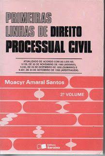 Sebo Felicia Morais: Primeiras Linhas de Direito Processual Civil-  Vol...