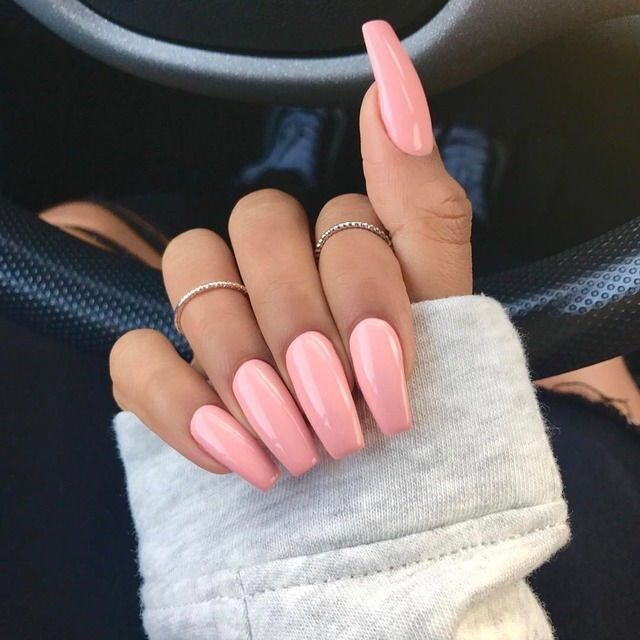 Ggtheblog| Nails |Nude Long Nails Kylie jenner,coffen nails,short or ...