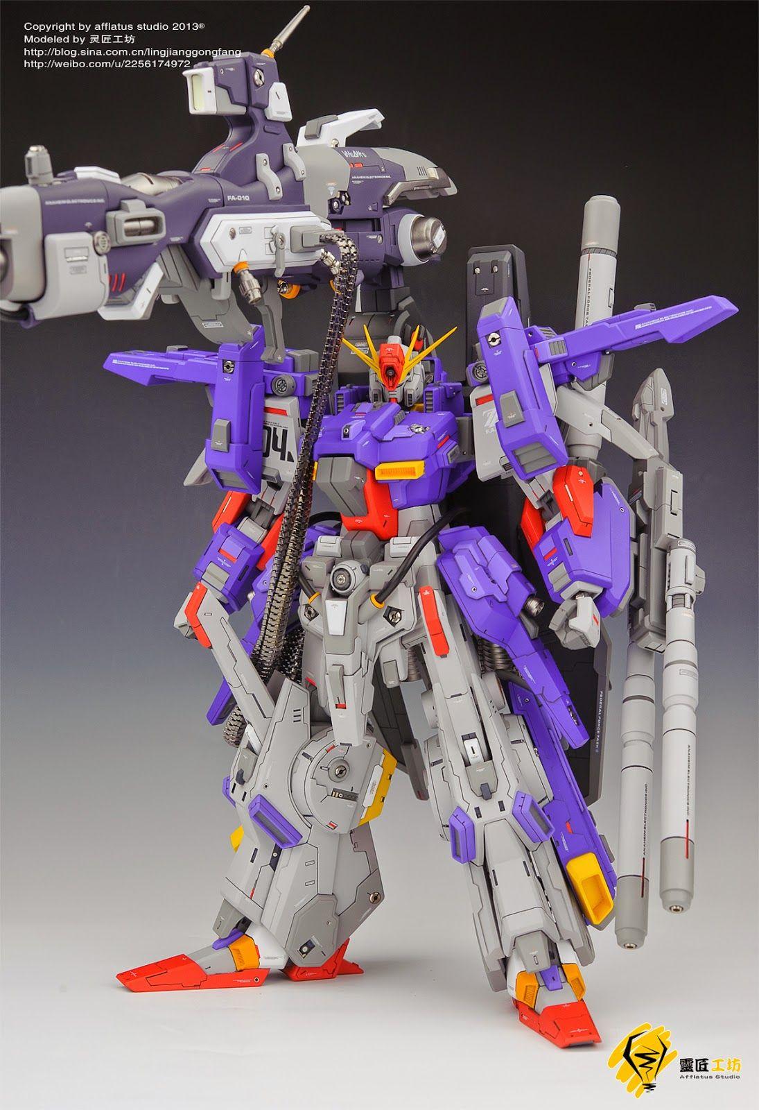 Gs 1 72 Fa Zz Full Armor Zz Gundam Painted Build ガンプラ Zz