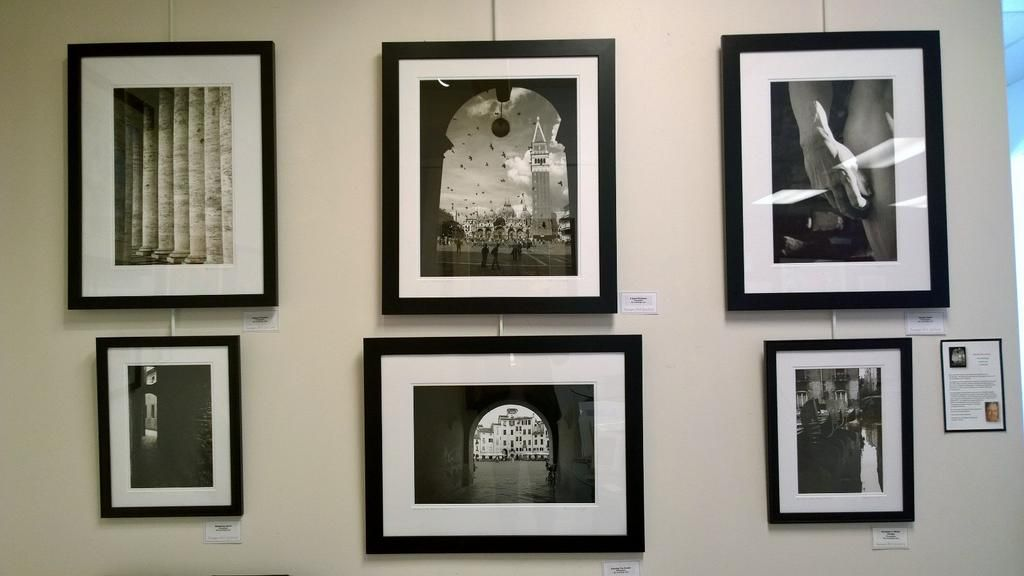 Gorgeous black & white photographs of classic #Italy by Ric Cummings at @IMAGES_art gallery, 7320 W 80th St., Overland Park, Kansas #365op