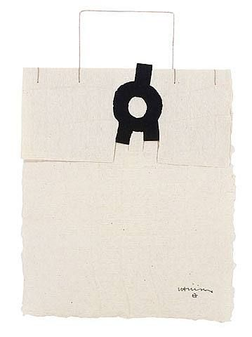 Gravitación  	ARTIST: 	 Eduardo Chillida (Spanish, 1924–2002)  	WORK DATE: 	 1991  	CATEGORY: 	Works on Paper (Drawings, Watercolors etc.)  	MATERIALS: 	ink on handmade paper