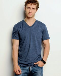 df94d8b255 Canvas™ V-Neck T-shirt - 3005 A sophisticated and tailored jersey V-neck.  Pre-shrunk 100% combed ring-spun cotton 5.0 ounce super soft jersey knit t- shirt