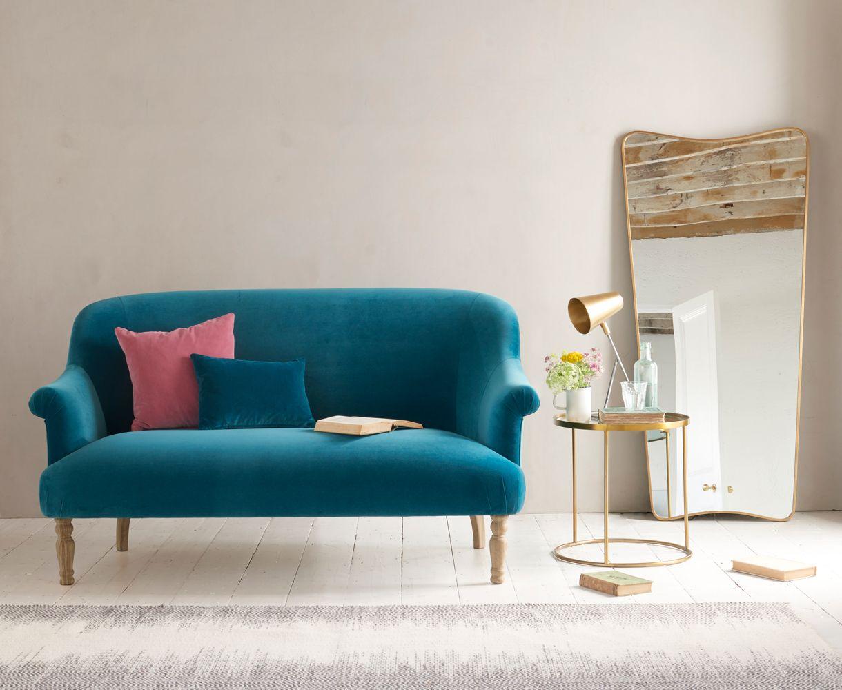 Fine Sweetie Sofa Home Small Sofa Retro Sofa Teal Living Rooms Theyellowbook Wood Chair Design Ideas Theyellowbookinfo