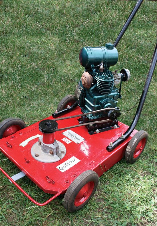 vintage international lawn mower eBay