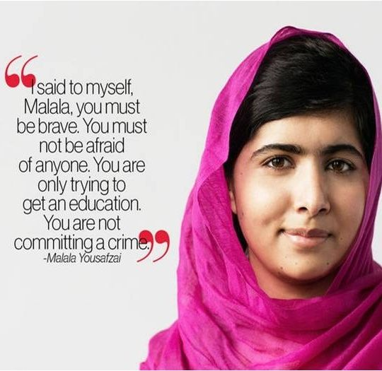 Malala quote | Readers and Teachers and Books (Oh my!) | Pinterest ...