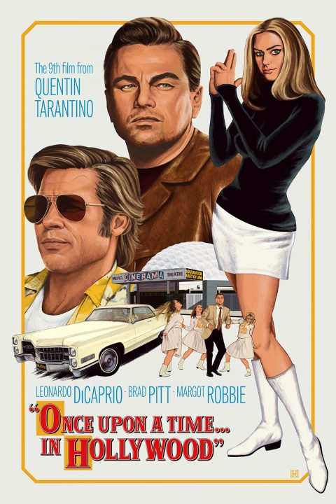 Once Upon a Time... in Hollywood - PosterSpy