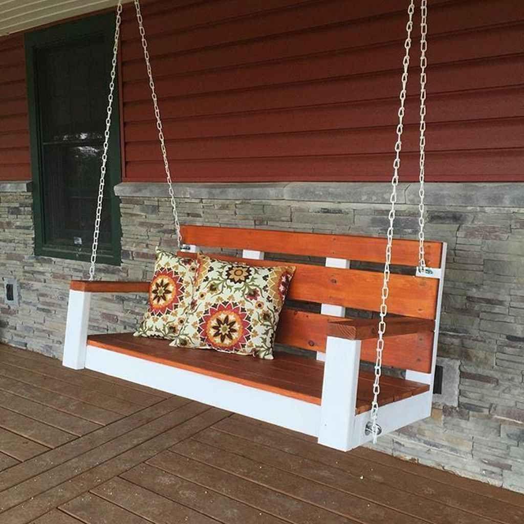70 Awesome Farmhouse Porch Swing Decor Ideas Structhome Com Front Porch Swing Diy Front Porch Decorating Porch Swing