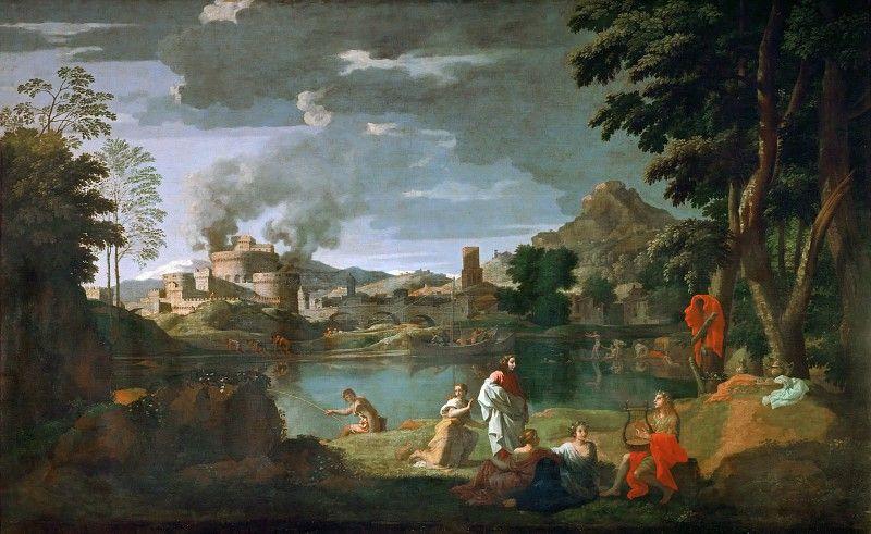 Пуссен, Никола (1594 лез-Андели - 1665 Рим) -- Орфей и ...
