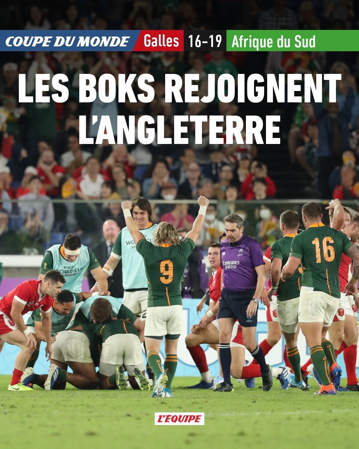 Rugby Rwc2019 Rugbyworldcup Southafrica Wales Semifinal Coupe Du Monde Afrique Du Sud Afrique