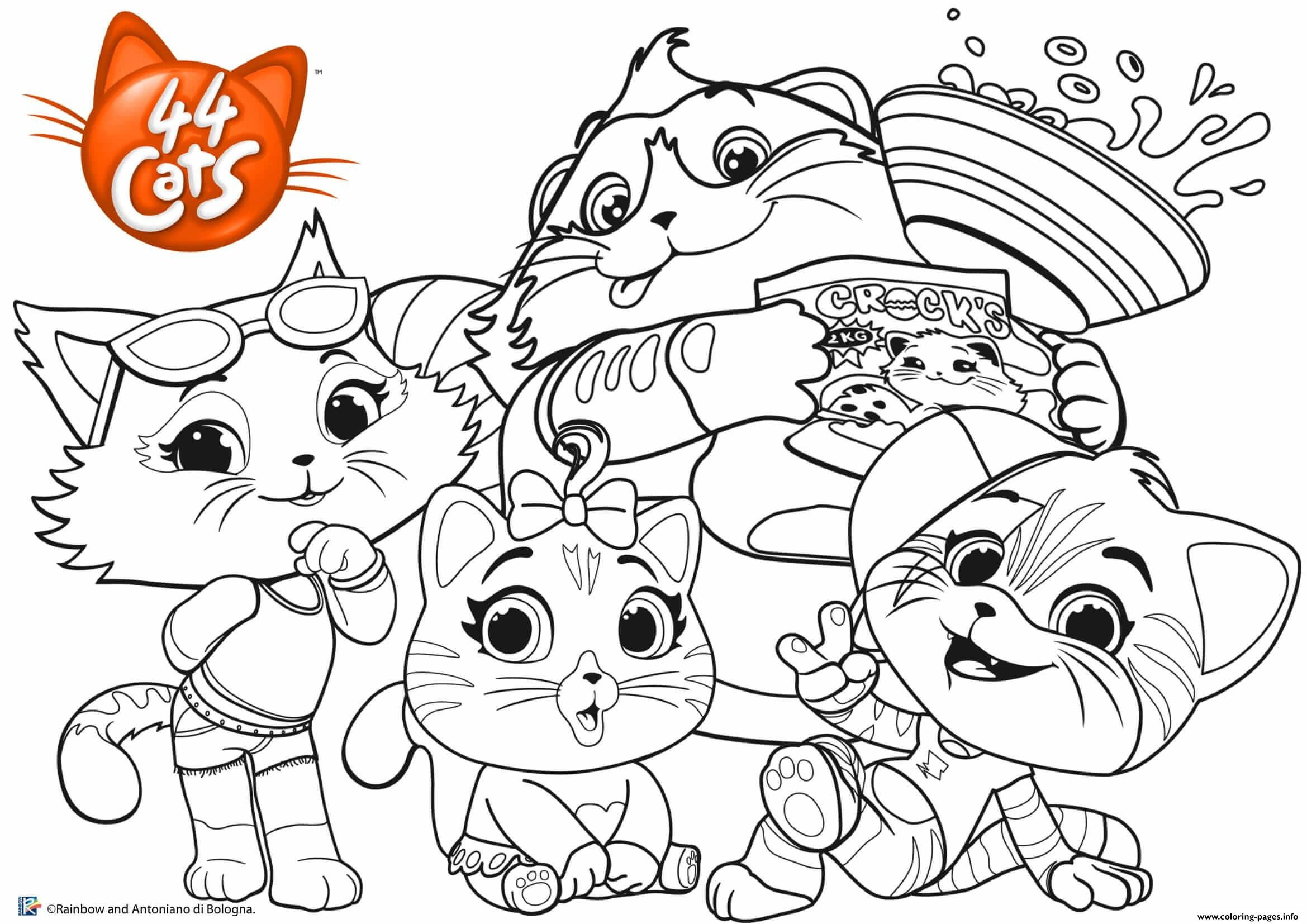 Print Buffycats 44 Cats Coloring Pages Cat Coloring Page Unicorn Coloring Pages Ladybug Coloring Page