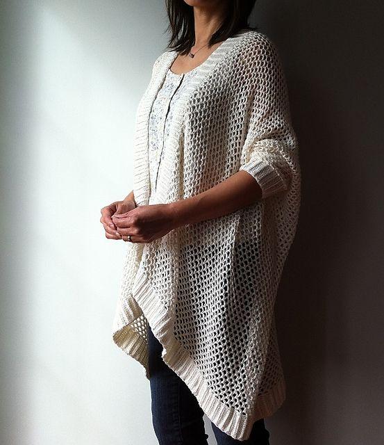 73369ee9e20ecd Angela - easy trendy cardigan (crochet) pattern by Vicky Chan