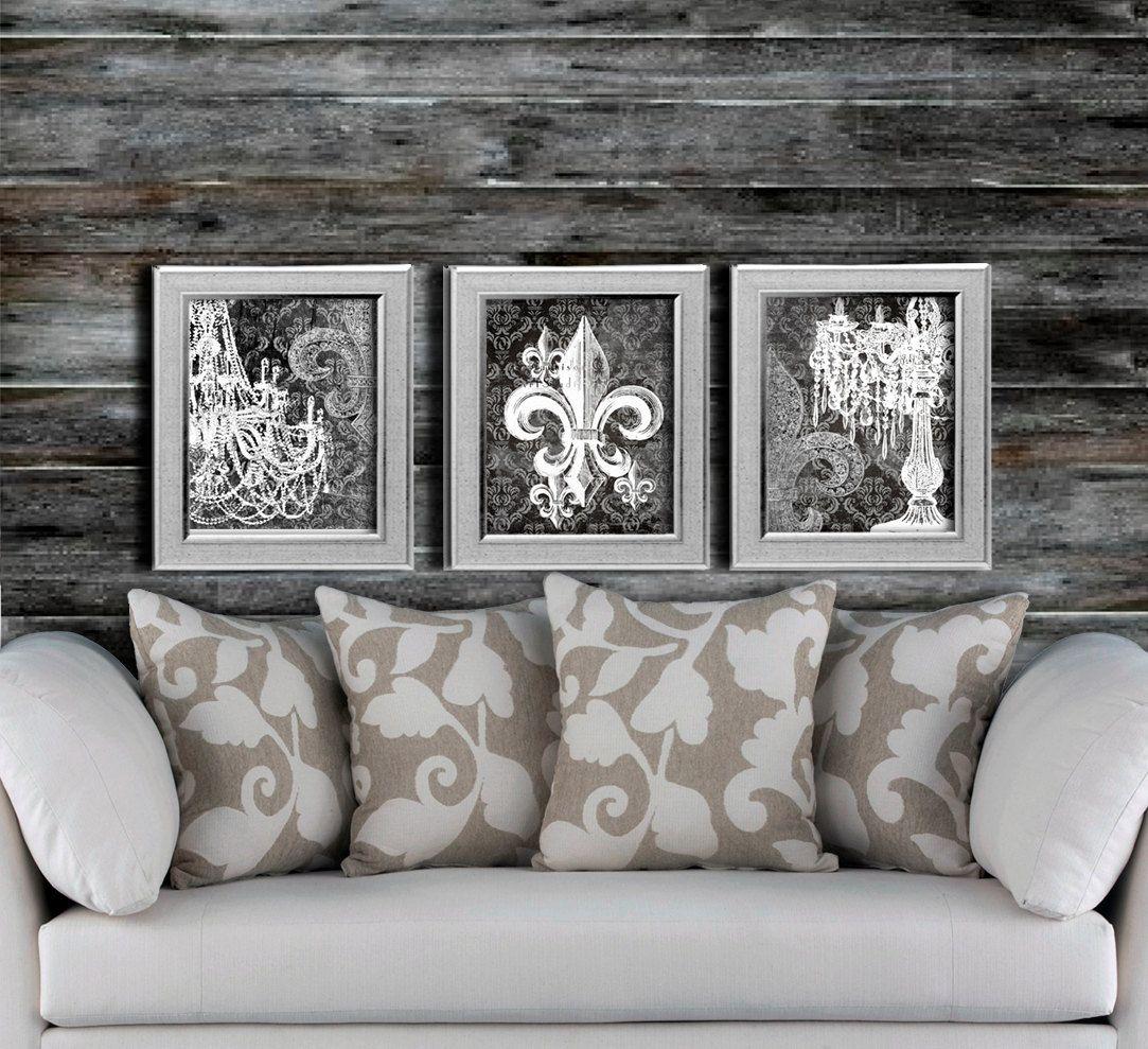 Modern Art Print Cottage Chic Wall Decor Vintage By Eeartstudio