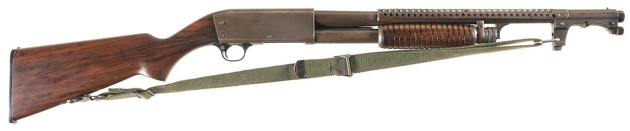 Ithaca Model 37 trench gun Manufactured by Ithaca gun