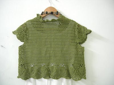 Little Flower's Knit: Crochet Bolero