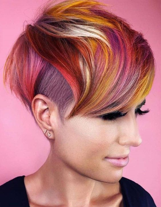 Attractive Highlights of Short Pixie Haircuts for 2020