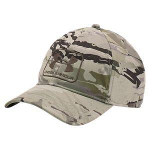 ff1c04de6ee Under Armour HeatGear Camo STR Stretch Fit Cap for Men - Ridge Reaper  Forest - XL 2XL