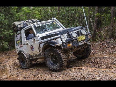 Suzuki Sierra does Coffs Tough Tracks - Insane recoveries