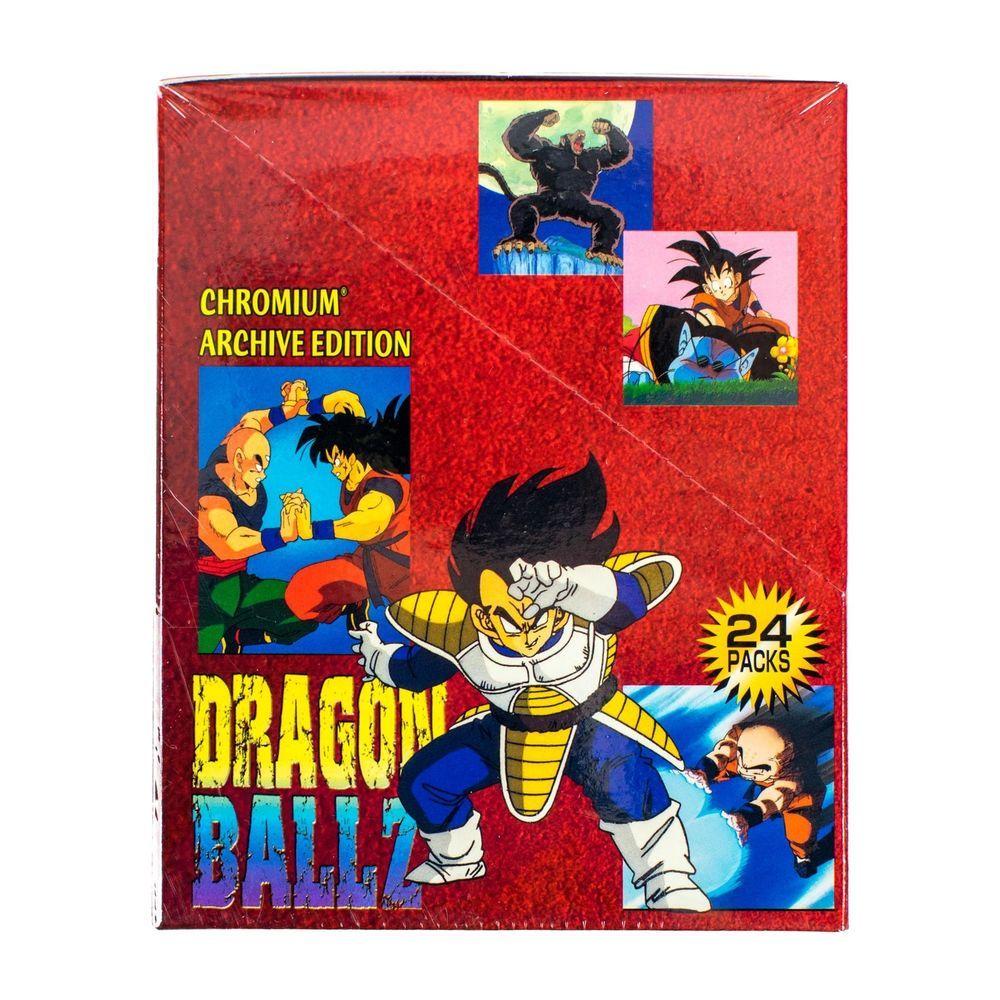 Artbox dragon ball z chromium archives trading cards