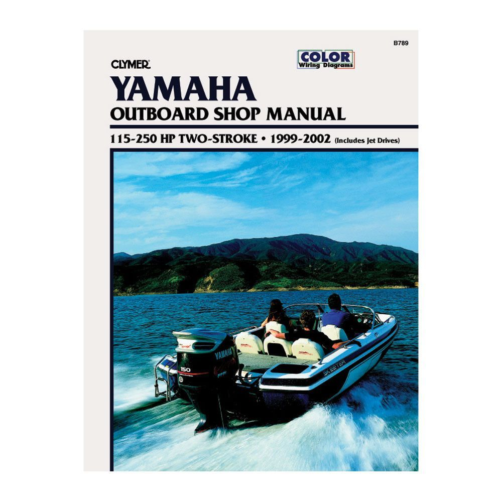 Yamaha 115 250 hp two stroke outboard and jet drives 1999 2002 clymer 115 250 hp two stroke outboard jet drives 1999 2002 publicscrutiny Image collections