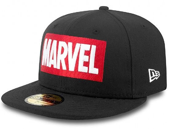 61f2d9b455212 Marvel Logo 59Fifty Fitted Cap by NEW ERA x MARVEL