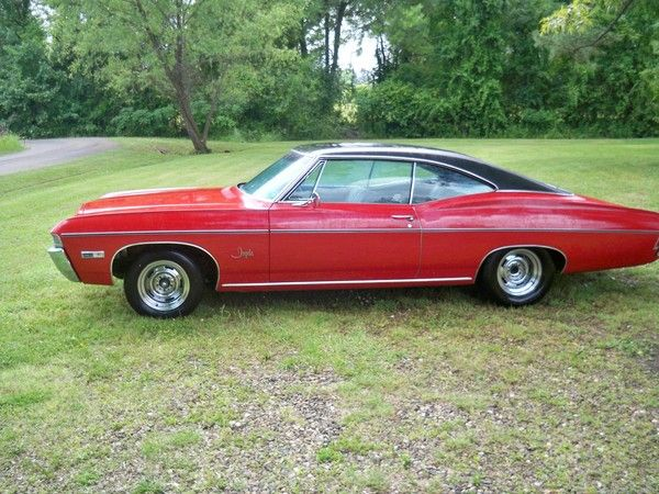 Classic Chevrolet Nova For Sale 1968 Chevy Impala Chevy Impala Chevrolet