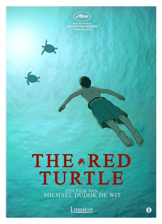 The Red Turtle Schipbreuk Turtle Schildpad