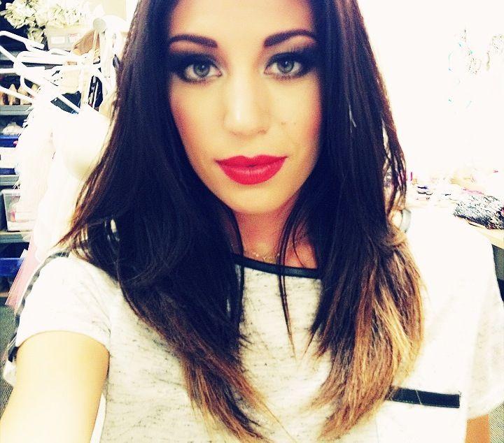 Kourtney Kardashian inspired makeup
