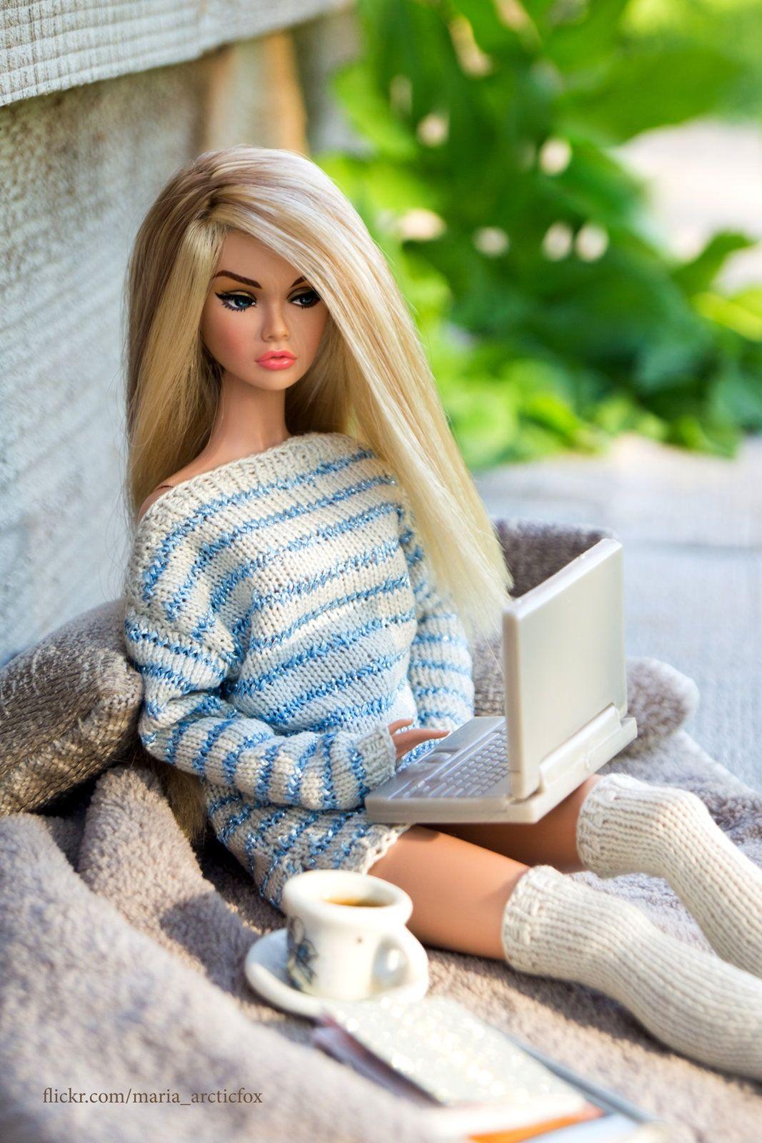 Good Morning Barbie Doll Images : morning, barbie, images, Morning), Barbie, Fashionista, Dolls,, Fashionista,, Fashion, Dolls