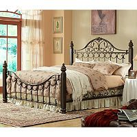 Sutton Metal Bed King Sam S Club Bed Furniture Metal Beds Bed
