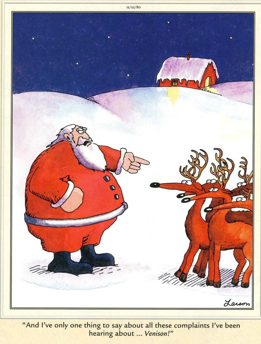 Far Side Christmas Cartoons : christmas, cartoons, Dagmar, Wagner, Cartoons, Christmas, Humor,, Larson, Cartoons,, Funny