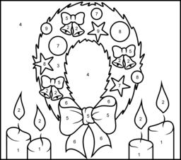 Christmas Coloring Online Free Christmas Coloring Pages Coloring Pages Christmas Wreaths