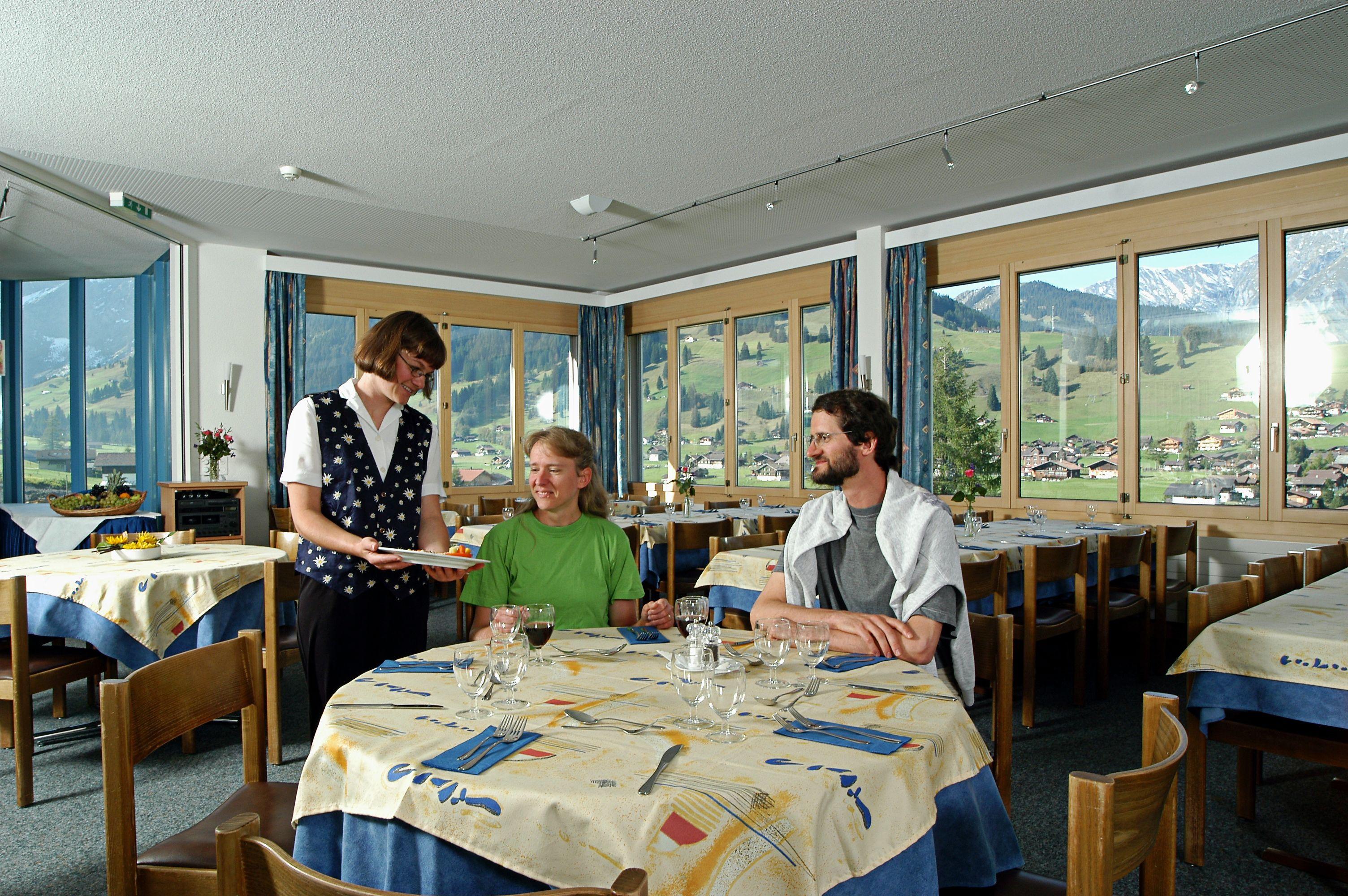 Hotel Alpina Restaurant Adelboden Berner Oberland Switzerland - Hotel alpina adelboden