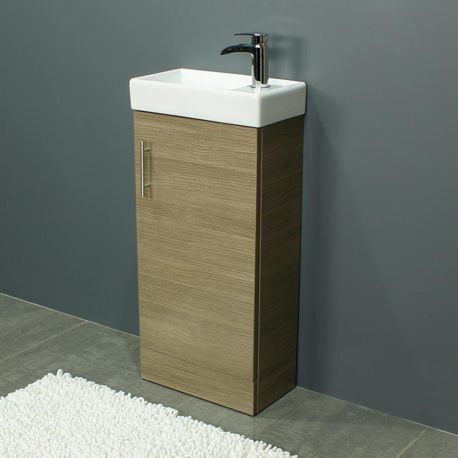 Zenith 400 Series Medium Oak Single Door Vanity Unit   Fast Delivery, Will  Not Be Beaten On Price. Call Bella Bathrooms On 0191 303 7771