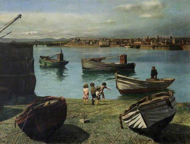 Montrose Harbour in 1939