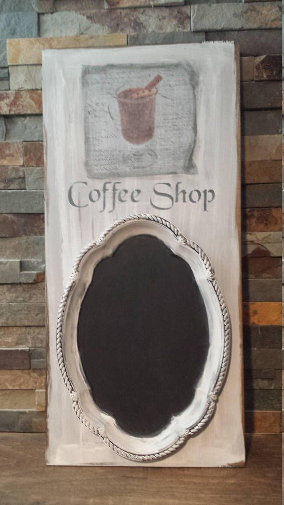 Ready to Ship SHABBY CHIC CHALKBOARD/Sign/Mothers Day Gift/Kitchen .