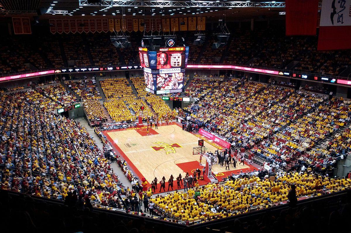 Hilton Coliseum Wikipedia With Images Iowa State Basketball