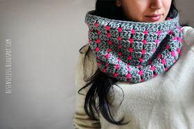Crochet cowl - scalda collo all'uncinetto - besenseless.blogspot.com