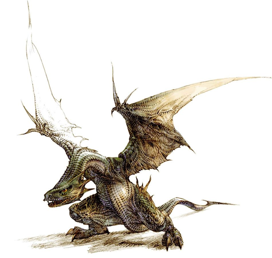 D'Tok Wyvern from Vagrant Story