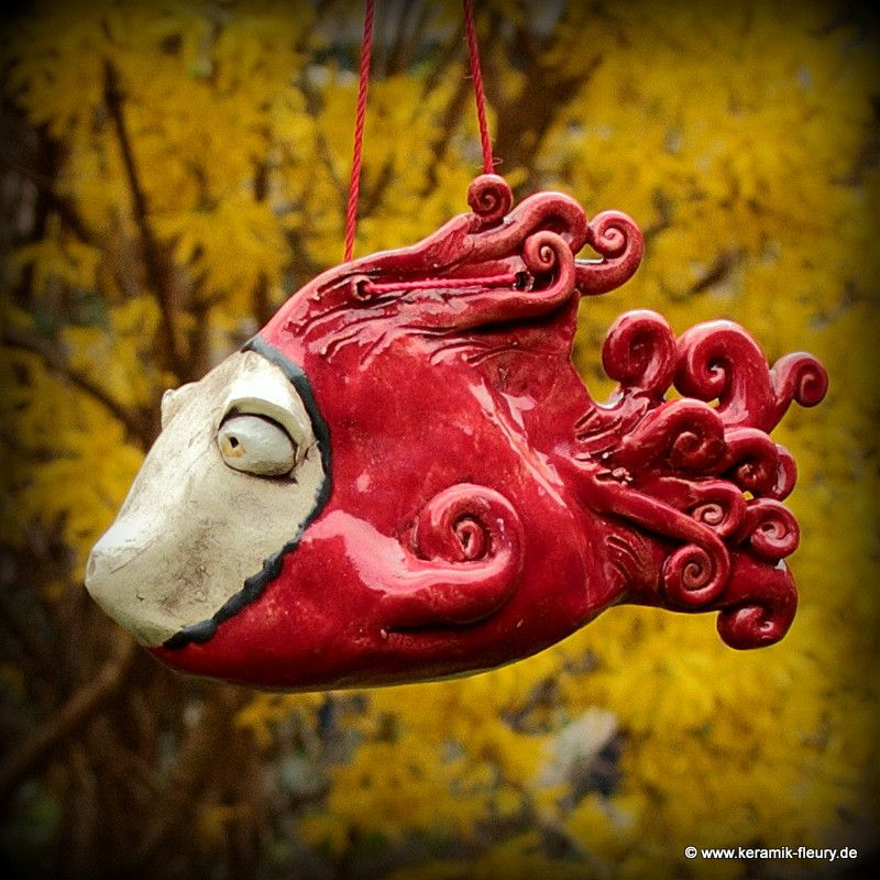Fische - FLEURY - Kreative Keramik für Haus und Garten Garten - haus und garten
