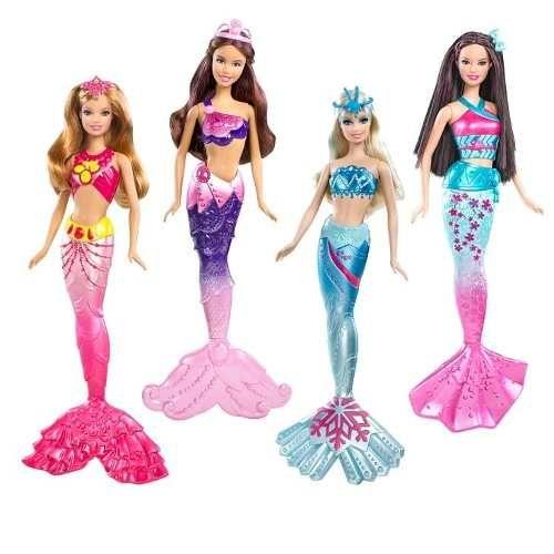 Sirenas Barbie Princesas Fn4 259 00 Ropa Para Barbie Barbie Sirena Cuento De Sirena