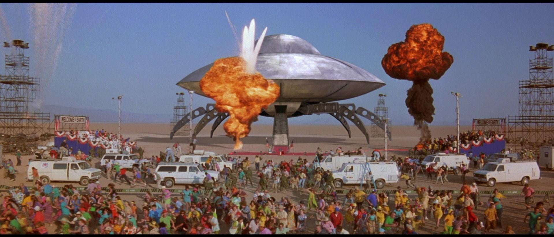 Mars Attacks! Mars attacks, Attack movie, Tim burton films