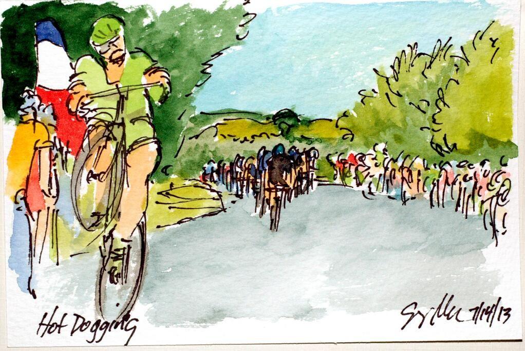 Greig Leach On Twitter Tour De France Tours Painting